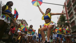 Rio Prepares For Upcoming Carnival With Street Parades